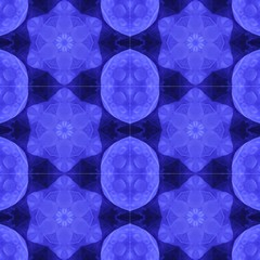 Abstract Blue Moon Star By Designsdeborah by Designsdeborah