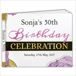 Sonja 50th Photobook - 11 x 8.5 Photo Book(20 pages)