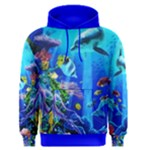 DOLPHINES AT THE CORAL REEF sweat shirt - Men s Core Hoodie