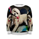 dog in the rain womens - Women s Sweatshirt