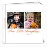 TwoLittlePumkins - 8x8 Photo Book (20 pages)