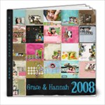 2008 Layouts - 8x8 Photo Book (20 pages)