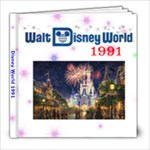 1991 Disney - 8x8 Photo Book (20 pages)