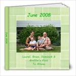 June 2008 - 8x8 Photo Book (20 pages)