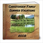 Vacations 2008 - 8x8 Photo Book (20 pages)