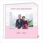DAD&MUM50Anniv - 6x6 Photo Book (20 pages)