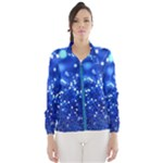 blue sparkel windbreaker - Women s Windbreaker