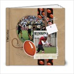 Football-6x6 Photo Book - 6x6 Photo Book (20 pages)