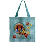 Flowers & Sunshine - Grocery Tote Bag