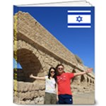 New 2017 Israel 1 - 8x10 Deluxe Photo Book (20 pages)