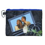 Our Blue Diamond Canvas Cosmetic Bag (XL)