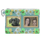 Our Family Canvas Cosmetic Bag (XL)