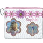 Sophia Canvas Cosmetic Bag (XXXL)
