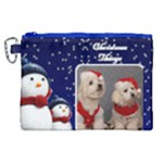 Christmas things Canvas Cosmetic Bag (XL)