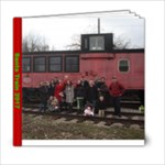 Santa Train - 6x6 Photo Book (20 pages)