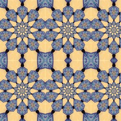 Calming Kaleidoscope Fabric