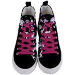 unicorn - Women s Mid-Top Canvas Sneakers