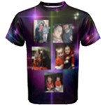 Christine rainbow family - Men s Cotton Tee