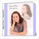 Senior Portraits - 8x8 Photo Book (20 pages)