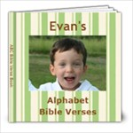 Bible Verse Book EVan - 8x8 Photo Book (20 pages)