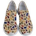 Tin Dogs and Police Boxes Shoes - Women s Lightweight Slip Ons