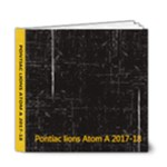 Atom A 2017-18 - 6x6 Deluxe Photo Book (20 pages)