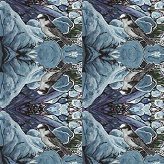 grey Jay  Fabric by reillyfitzart