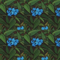 Blueberries  Fabric