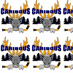 Caribous Minor Hockey (white) Fabric