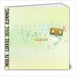 Summer Trip 2008 - 8x8 Photo Book (20 pages)