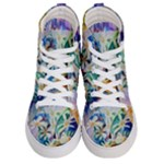 SunnySill - Women s Hi-Top Skate Sneakers