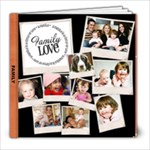 family love - 8x8 Photo Book (20 pages)