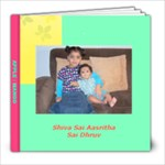 Apple-Mango - 8x8 Photo Book (20 pages)