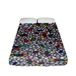 Pattern #3 Bed Sheets  - Fitted Sheet (Full/ Double Size)