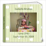Isabella 1st Bday - 8x8 Photo Book (20 pages)