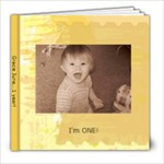 Gracie yr 1 edition B - 8x8 Photo Book (30 pages)