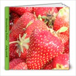 strawberry patch - 8x8 Photo Book (20 pages)