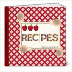 Digitreats Recipes 2 - 8x8 Photo Book (20 pages)