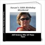 Susan s 50th Birthday - 8x8 Photo Book (20 pages)