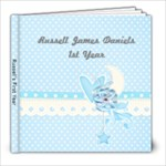 Russell s 1st Year - 8x8 Photo Book (20 pages)