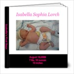 Isabella - 8x8 Photo Book (20 pages)
