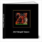 2017 Bengals Season Photo Book - 8x8 Photo Book (20 pages)