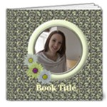 Jane Country Florals Deluxe 8x8 book (20 Pages) - 8x8 Deluxe Photo Book (20 pages)