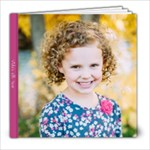 Vida s Sixth Year - 8x8 Photo Book (20 pages)