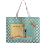 Birds N Bees Medium Zipper Tote Bag - Zipper Medium Tote Bag
