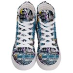 Women s Hi-Top Skate Sneakers