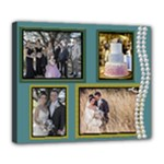 Wedding Deluxe canvas 24 x 20 - Deluxe Canvas 24  x 20  (Stretched)