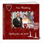 30pg Wedding - 8x8 Photo Book (30 pages)