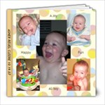 ASHER S FIRST YEAR - 8x8 Photo Book (20 pages)