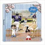 8x8 Baseball Book - 8x8 Photo Book (20 pages)